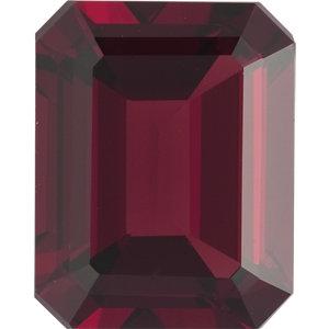 Garnet Emerald 0.41 carat Orange Red Photo