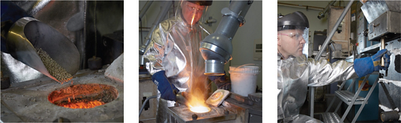 Continuous Cast Process