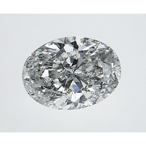 Oval 2.04 carat H SI3 Photo