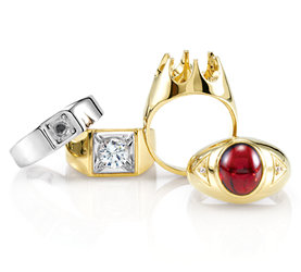 Mountings wholesale jewelry settings wholesale stuller mens aloadofball Image collections
