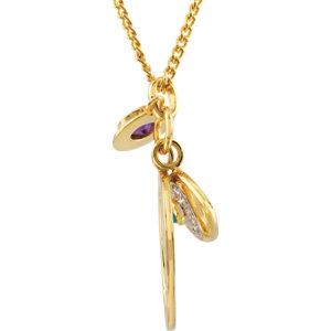 Missoma® Gemstone Charm Necklace