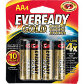 Eveready Pack Of 4 AA Batteries