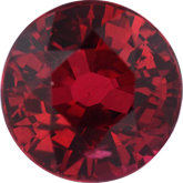 Round Genuine Ruby (Black Box)
