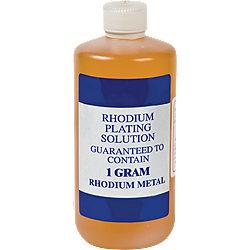 Cohler Superbrite Rhodium Bath Plating Solution 1GM | Stuller