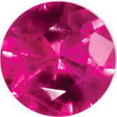 Round SWAROVSKI GEMSTONES™ Genuine Top Ruby