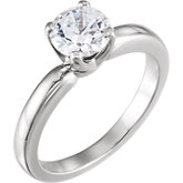 4-Prong Low Solstice Solitaire® Engagement Ring