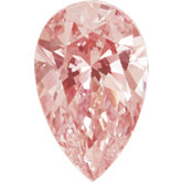 Pear SWAROVSKI GEMSTONES™ Lab Created Morganite Pink Cubic Zirconia