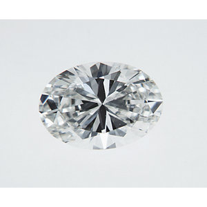 Oval 0.30 carat F VS2 Photo