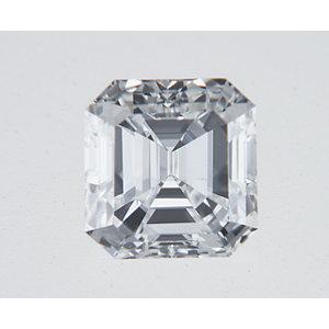 Asscher 0.30 carat E VVS2 Photo