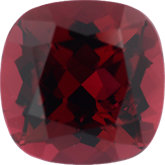 Antique Square Genuine Rubellite Tourmaline (Black Box)