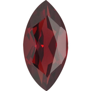 Garnet Marquise 0.25 carat Orange Red Photo