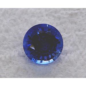 Sapphire Round 1.07 carat Blue Photo