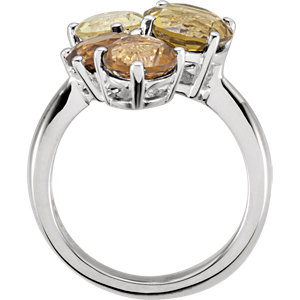 Multi-Shape Cluster-Style Ring