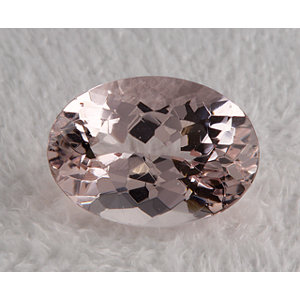 Morganite Oval 5.81 carat Pink Photo