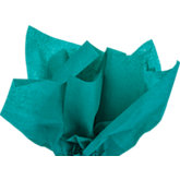 Teal Gift Wrap Tissue