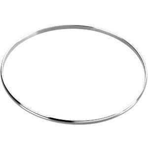 Sterling Silver 2.5mm Bangle Bracelet