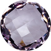 Round Genuine Rose de France Quartz