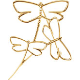 Dragonfly Brooch Mounting