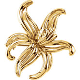 Floral-Inspired Brooch