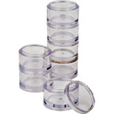 Beadalon® 7 pc. Stackable Round Tray Set
