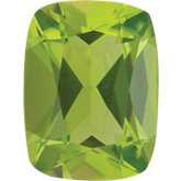 Antique Cushion Genuine Peridot