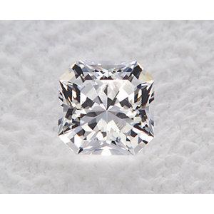 Sapphire Asscher 1.29 carat White Photo