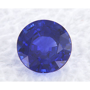Sapphire Round 1.19 carat Blue Photo