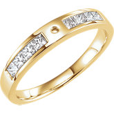 Diamond Semi-mount Engagement Ring, Base or Band