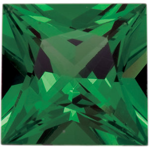 Garnet Square 0.25 carat Green Photo