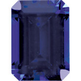 Emerald/Octagon Imitation Tanzanite
