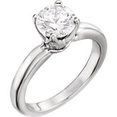 Medium Solstice Solitaire® Engagement Ring