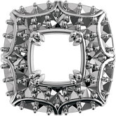 Round Double Prong Halo-Style Trim