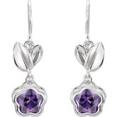 BFlower™ Youth Cubic Zirconia Earrings