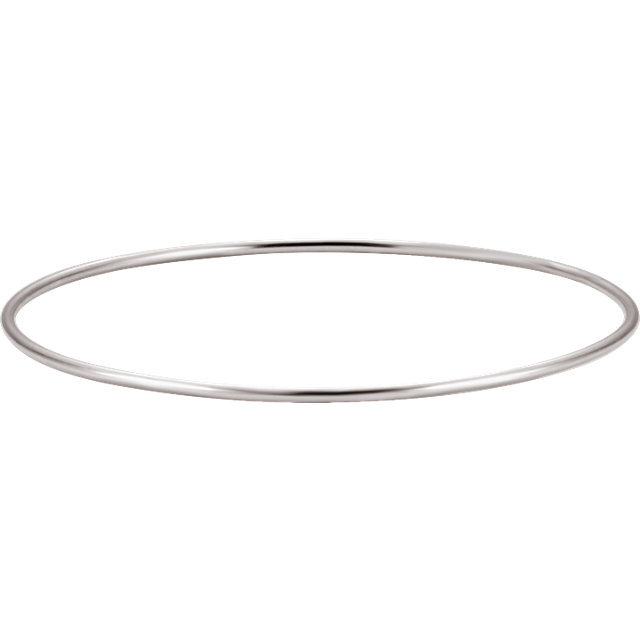 Sterling Silver 1.5mm Bangle Bracelet