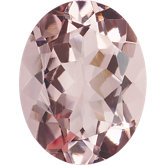 Oval Genuine Pink Morganite