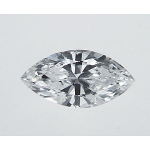 Marquise 0.37 carat D I1 Photo