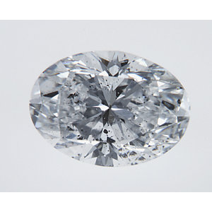 Oval 1.50 carat D SI2 Photo