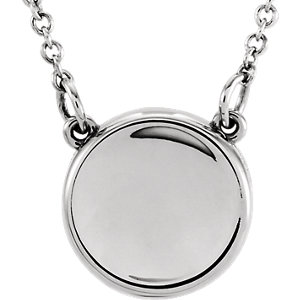 Necklace / Chain , Concave Necklace or Center