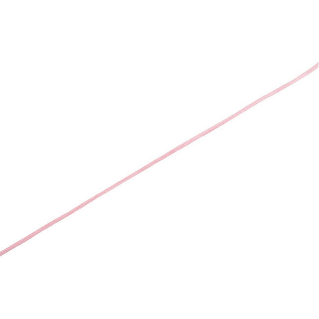 Sterling Silver 2 mm Pink Cord by the Inch