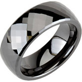 Ceramic Couture®  Domed Band