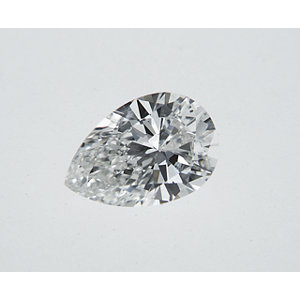 Pear Shape 0.30 carat H I1 Photo