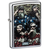Zippo® Duck Dynasty® A&E® Street Chrome™ Lighter