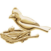 The Caring Cardinal Brooch