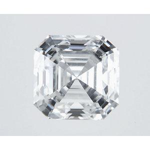 Asscher 0.52 carat H VVS2 Photo