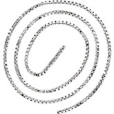 2mm Sterling Silver Box Chain