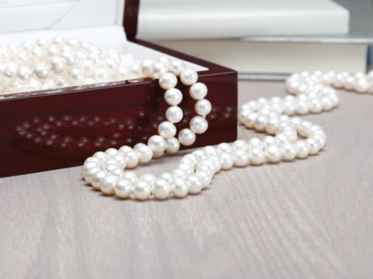Pearls in Jewelry Box