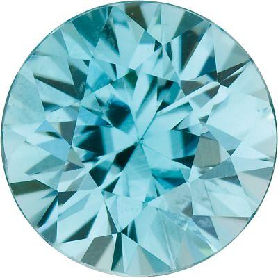 Enhanced Blue Zircon