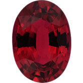 Oval Genuine Ruby (Black Box Matched Sets)