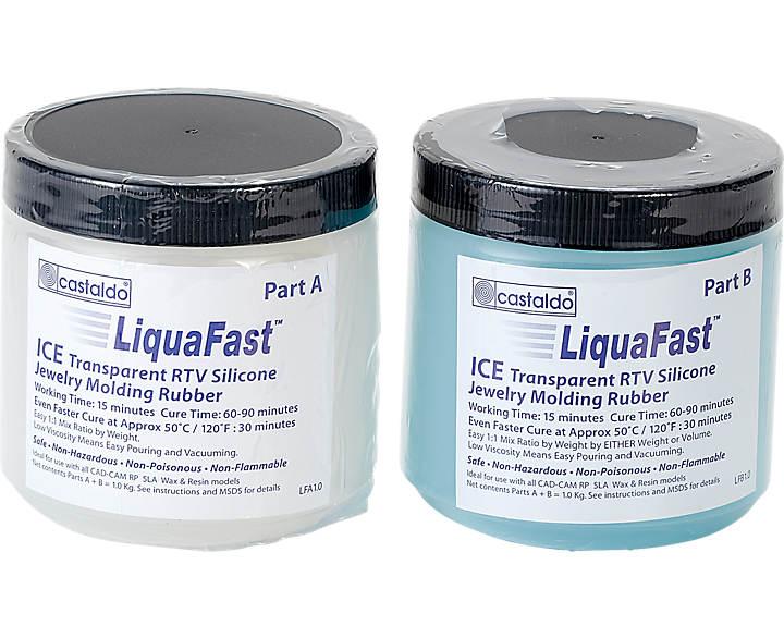 Castaldo® LiquaFast™ Ice RTV 2 Part/2 2lb Kit | Stuller