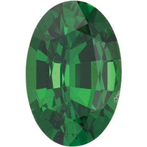 Garnet Oval 0.20 carat Green Photo